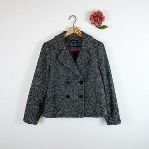 [TALBOTS] Tweed Suit Jacket Blazer
